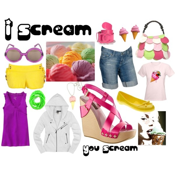 i Scream, created by mzlorraine.polyvore.com