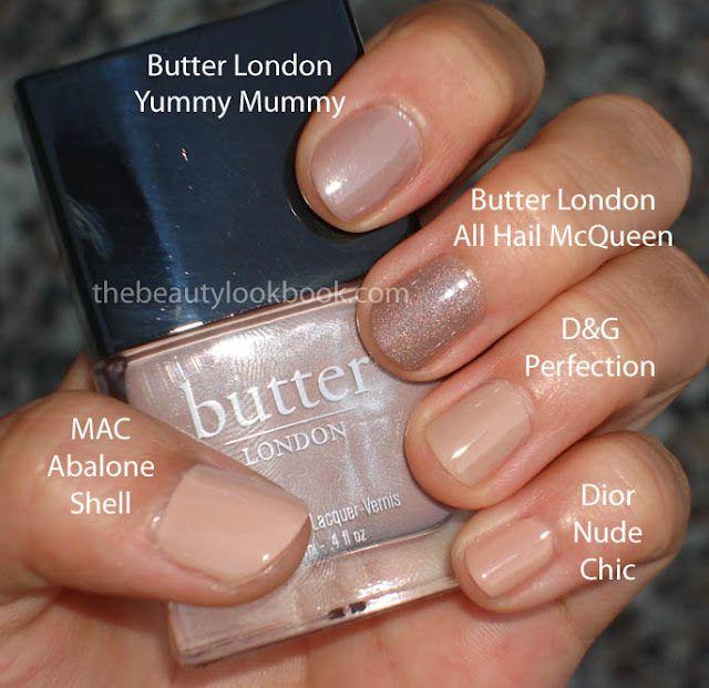 butter London yummy mummy a magical nude polish