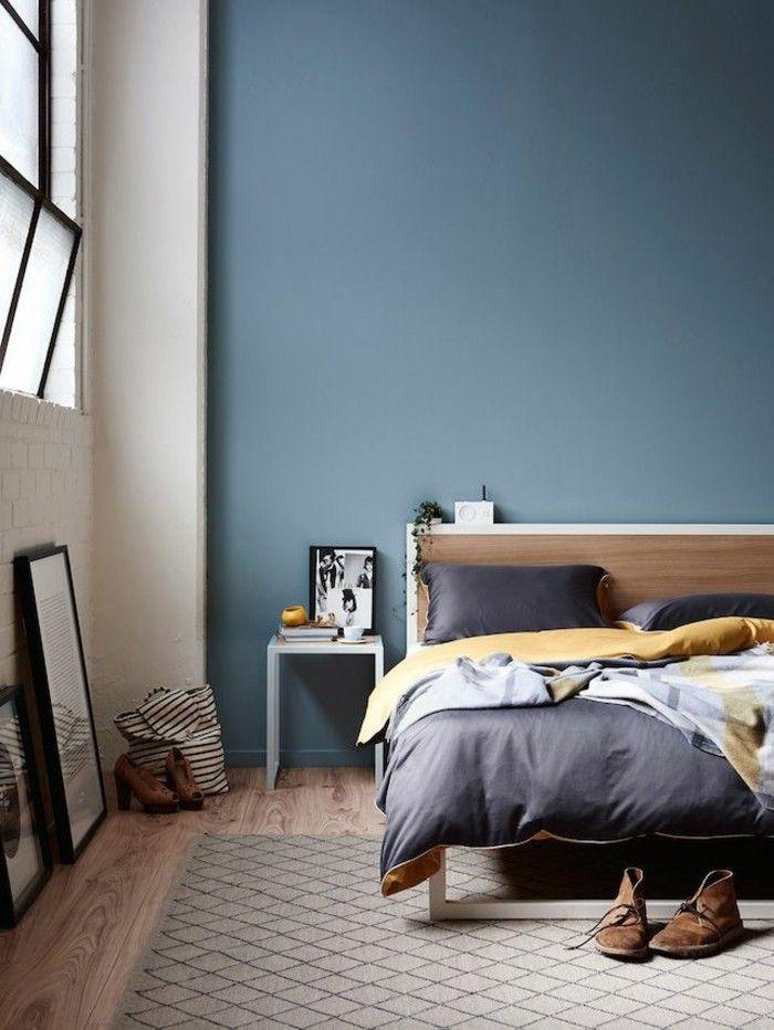 45 Super Ideen Fur Farbige Wande Schlafzimmer Wand Moderne
