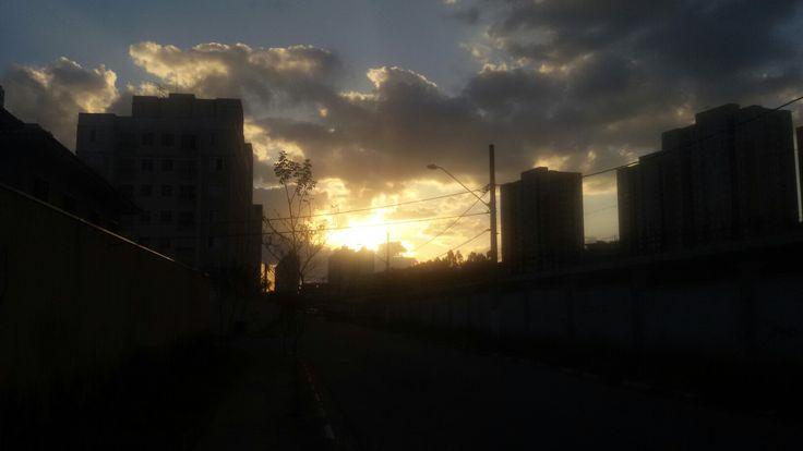 Por do sol ... Portais ... Cajamar