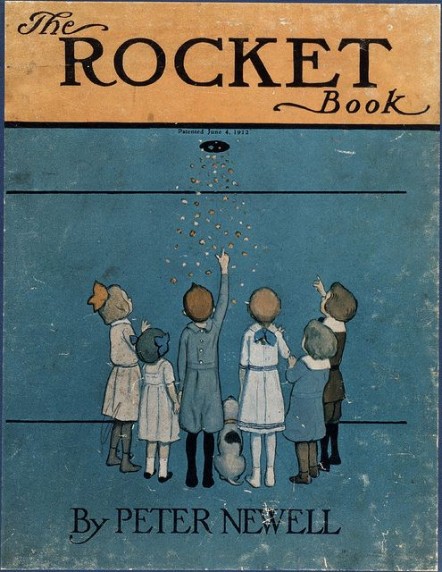 The Rocket Book (cover) by peacay, via Flickr