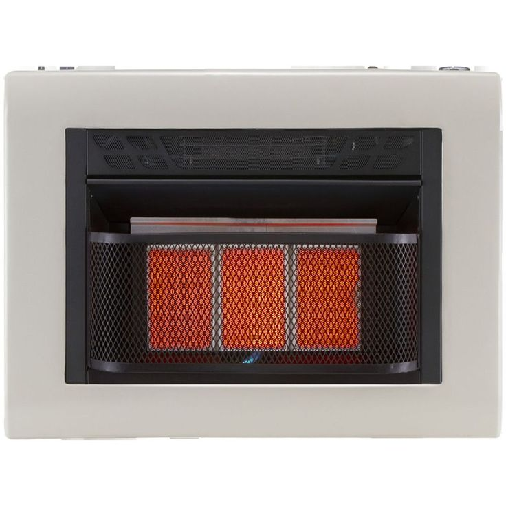 btu vent free infrared space heater gas thermastat - Electric Heaters Lowes
