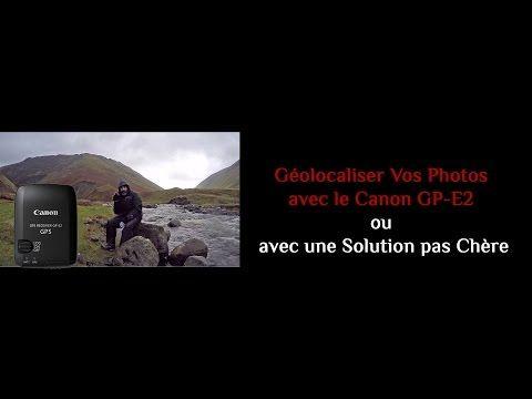 Sous une météo déchainée, je teste le recepteur GPS Canon GP-E2 et vous donne une solution alternative pas chère.