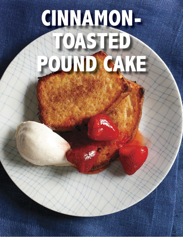 Cinnamon-Toasted Pound Cake | Martha Stewart Living - This elegant ...