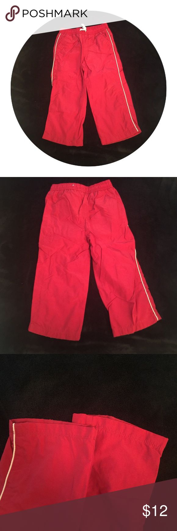 Boys Red Jogger Pants 2T 🎀No tears or stains🎀 Children's Place Bottoms Sweatpants & Joggers