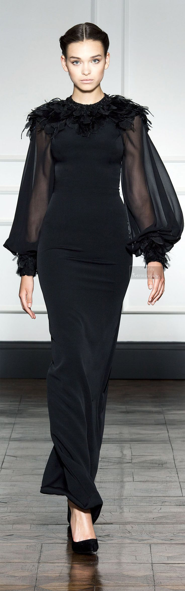 Dilek Hanif F/W 2014-15 020315. If you love this then check out www.partiespearlsandbeingprecious.com