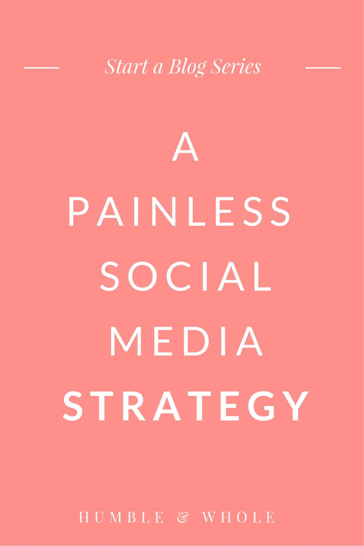 Is your blog's social media strategy stressing you out? Social media is a given for your blog marketing plan, but it doesn't have to drive you crazy! Click through to discover an easy approach to blog promotion that will narrow your focus and build an audience!
