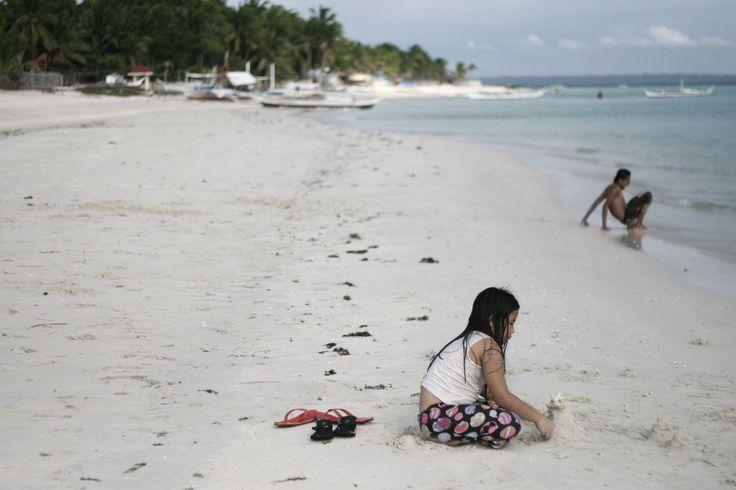 Sugar beach in Bantayan