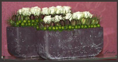 Goedkoop bloemstuk maken - goedkoop bloemschikken met materiaal uit de tuin