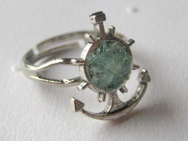 Anchor Ring Small Anchor Ring Silver Anchor Ring. by AimeezArtz, $15.00