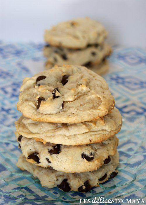Les délices de Maya: Biscuits au fromage à la crème et chocolat