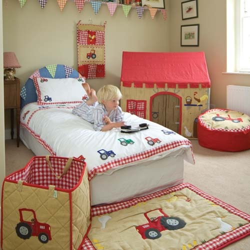 Farmall Tractor Bed Set : Best images about farmall and other tractor ideas on