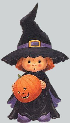 figuras e ilustraciones Halloween | brujitas | calabazas | fantasmas | muercielagos