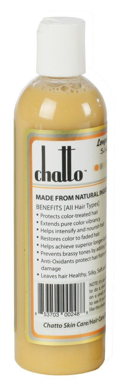 Chatto Longevity Honey Blonde Enhancement Organic Hair Color Shampoo, 6fl oz *** Check this awesome product by going to the link at the image.