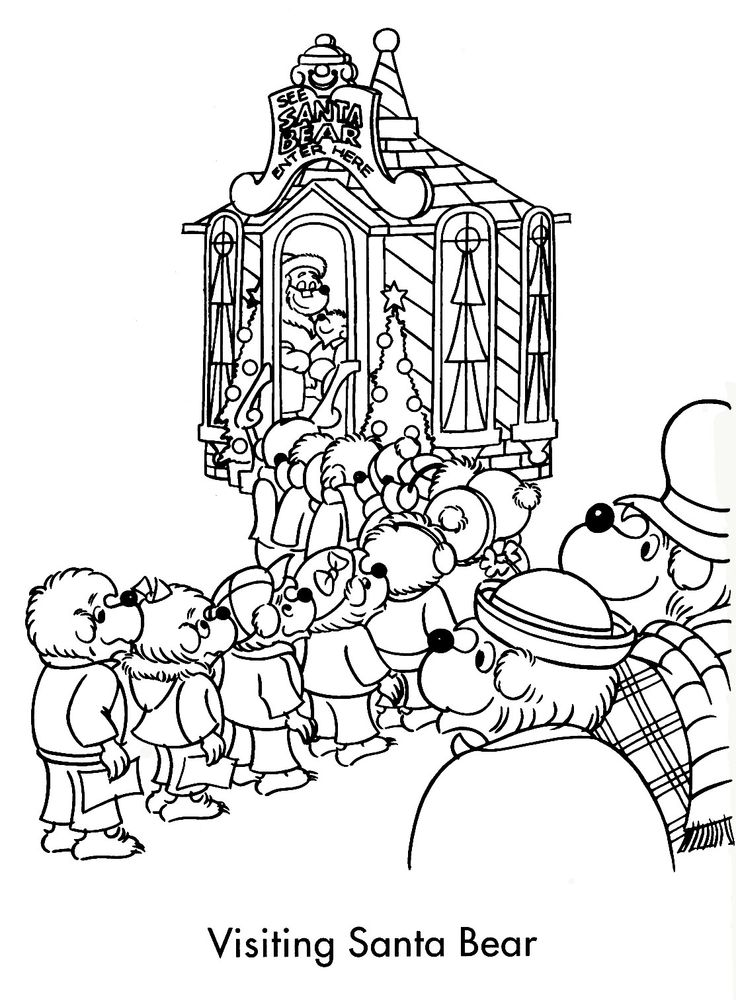 31 best Coloring Pages (Berenstain Bears) images on