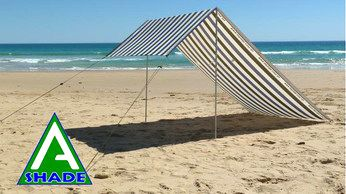 A-Shade canvas portable awning