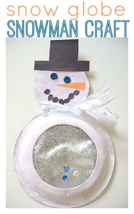 Awesome snowman craft for kids