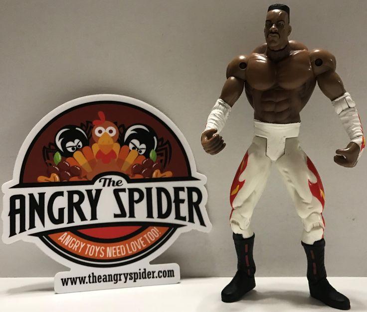 TAS003802 - OSTM WCW WWE Wrestling Figure - Booker T.