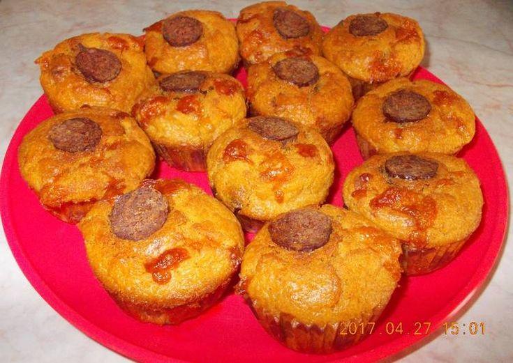 Magyaros muffin
