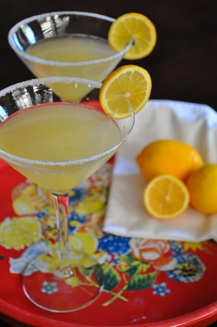Meyer Lemon Drop Martini | Recipes | Pinterest
