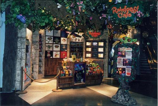 Rainforest Cafe, Bloomington - Restaurant Reviews - TripAdvisor