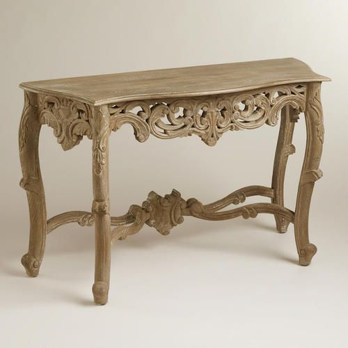 $199.50.  Great entryway table or next to a bed for a writing desk. Wooden Victorian Console Table