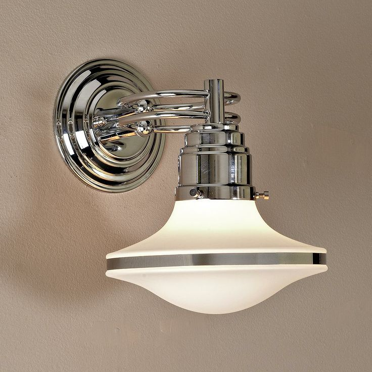 Retro Saucer Sconce Take A Trip Back In Time With This Retro Sconce Chrome Rings Suspend A