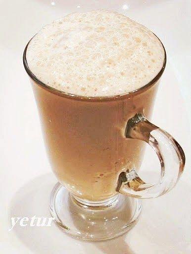 Frappe Buzlu Kahve...  yetur'la lezzet kareleri: sıcak ve soğuk içecekler