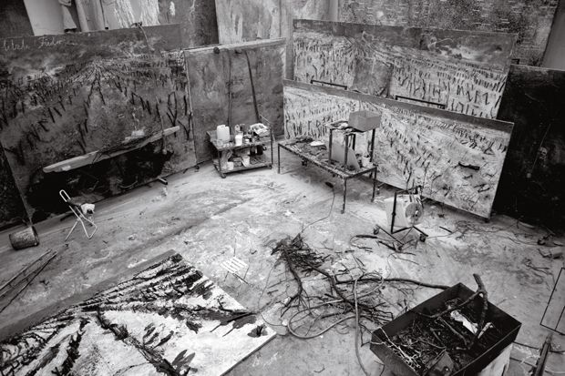 A look inside Anselm Kiefer's studio | Art | Agenda | Phaidon