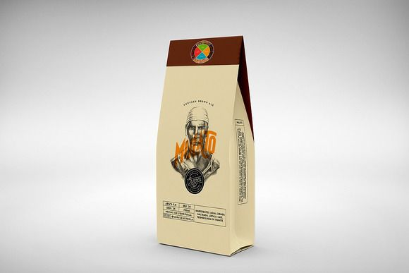 Coffee Packaging Mockup by alexvisual on @creativemarket