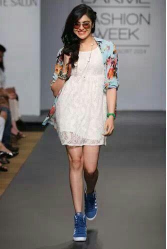 Adah Sharma....loving the casual look