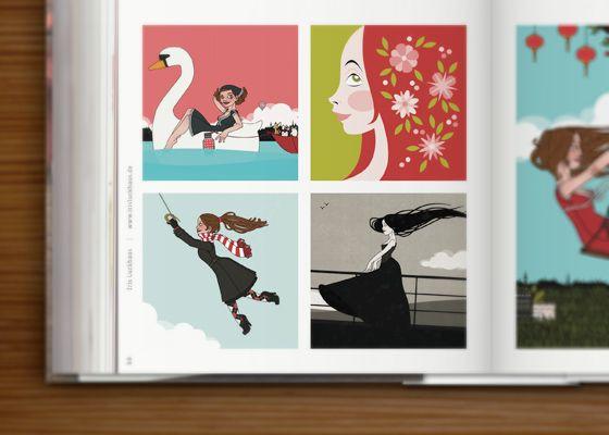 "Anthologien // Zeixs Cube ""Illustration II"" - Iris Luckhaus // Illustration + Design"
