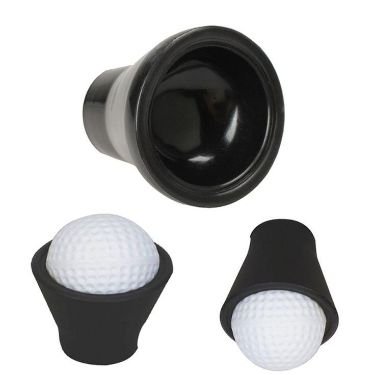 Golf Tee Finger Ball Pick Up Suction Cup Picker For Putter Grip Caddy Sucker Retriever Golf Training Aids