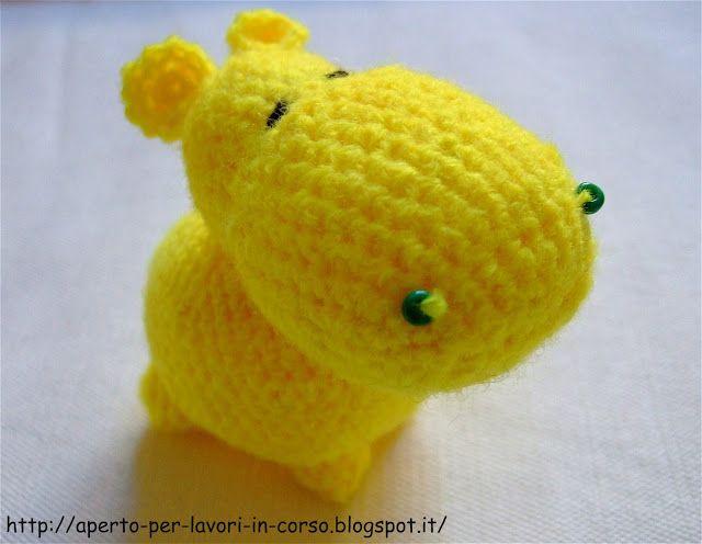 Ippopotamo Amigurumi Crochet : Oltre 1000 idee su Ippopotamo Alluncinetto su Pinterest ...