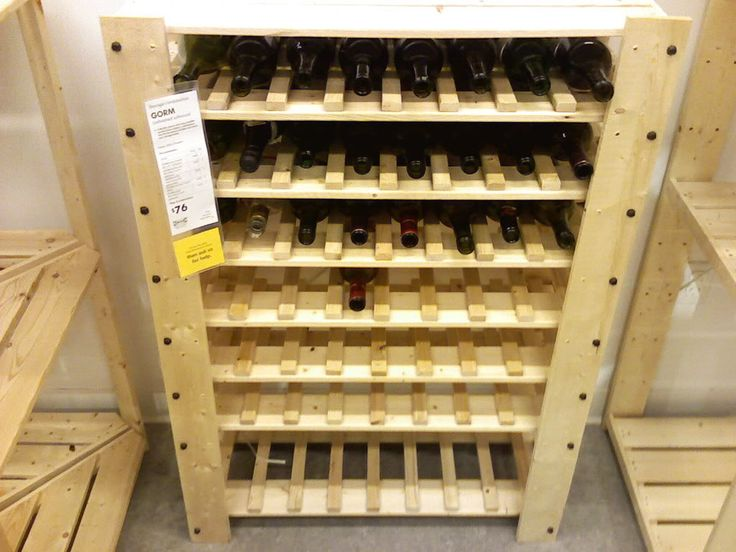 GORM wine rack photo: Hot little number I picked up from IKEA. This ...