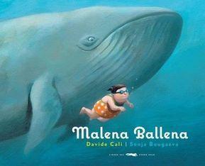 """""""Para poder vencer los complejos, basta con pensar lo contrario"""". 'Malena Ballena' es la historia de una niña a quien en la piscina le llaman ballena. Pero no solo eso, 'Malena Ballena' es la historia de la lucha frente a los complejos personales y frente a los cánones de belleza impuestos por la sociedad."""