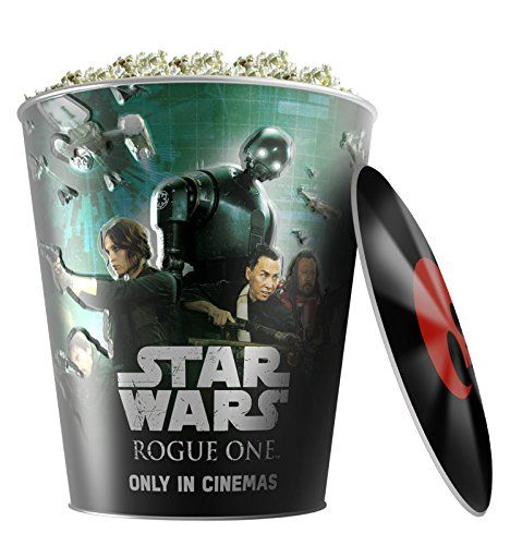 Star Wars: Rogue One Movie Theater Exclusive 130 oz Metal Popcorn Tin W/Lid #3 //Price: $19.99 & FREE Shipping //     #starwarscollection
