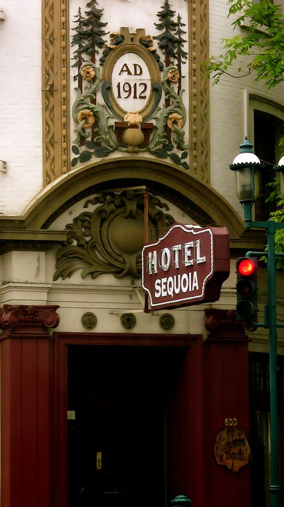 https://flic.kr/p/6ScRcf | Sequoia Hotel in Redwood City, California
