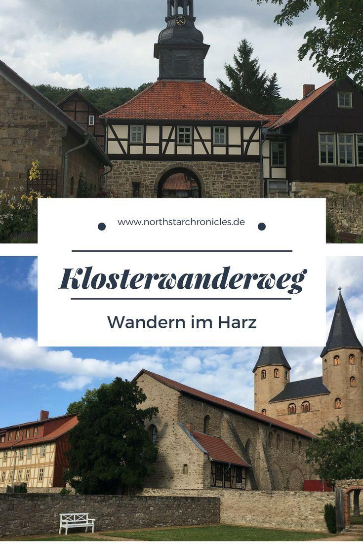 Der Klosterwanderweg ist einer der schönsten Wanderwege im Harz. Er ist knapp 70km lang und geht von Thale über Ilsenburg nach Goslar.