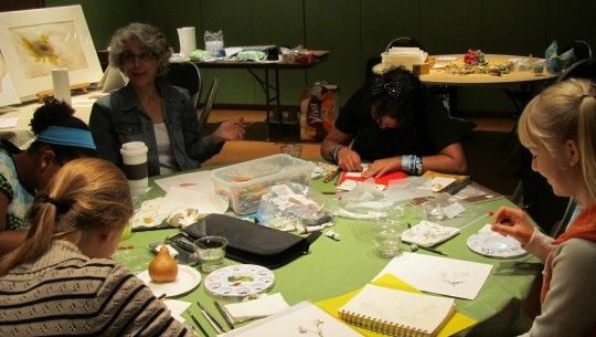 Spontaneous Watercolor with Mixed Media Savage, Minnesota  #Kids #Events