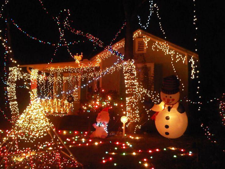 christmas light celebration with amazing decoration - Celebration Christmas Lights