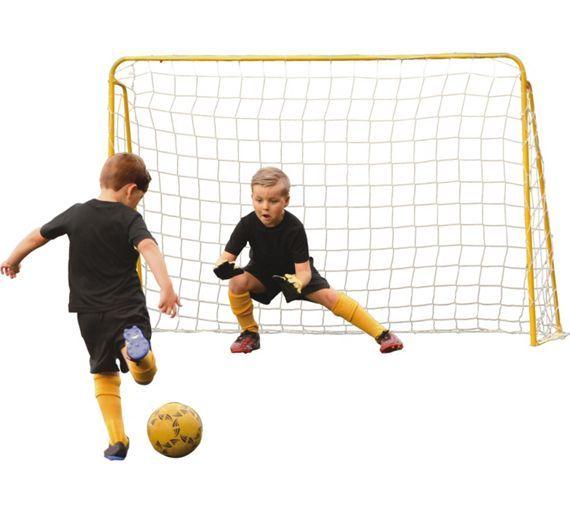 Buy Kickmaster Steel 5ft Premier Football Goal at Argos.co.uk, visit Argos.co.uk to shop online for Football equipment, Football, Sports, Sports and leisure