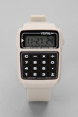 This is what we vet tech needs! Calculator and watch. (lol, @Jessica Teaff , Steve needs to give me the hookup :P)
