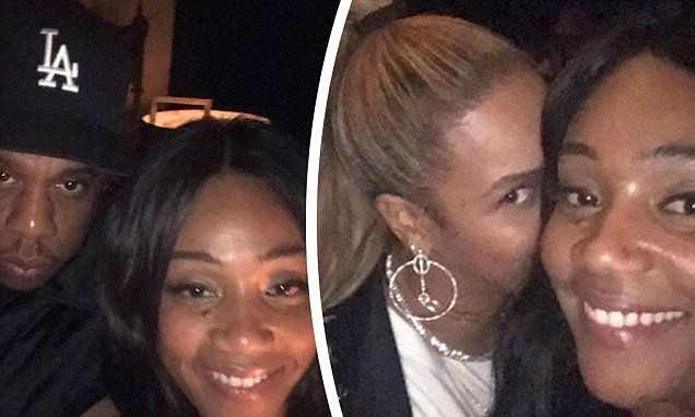 Tiffany Haddish Shares A Selfie With Beyonce At Jay Z Concert