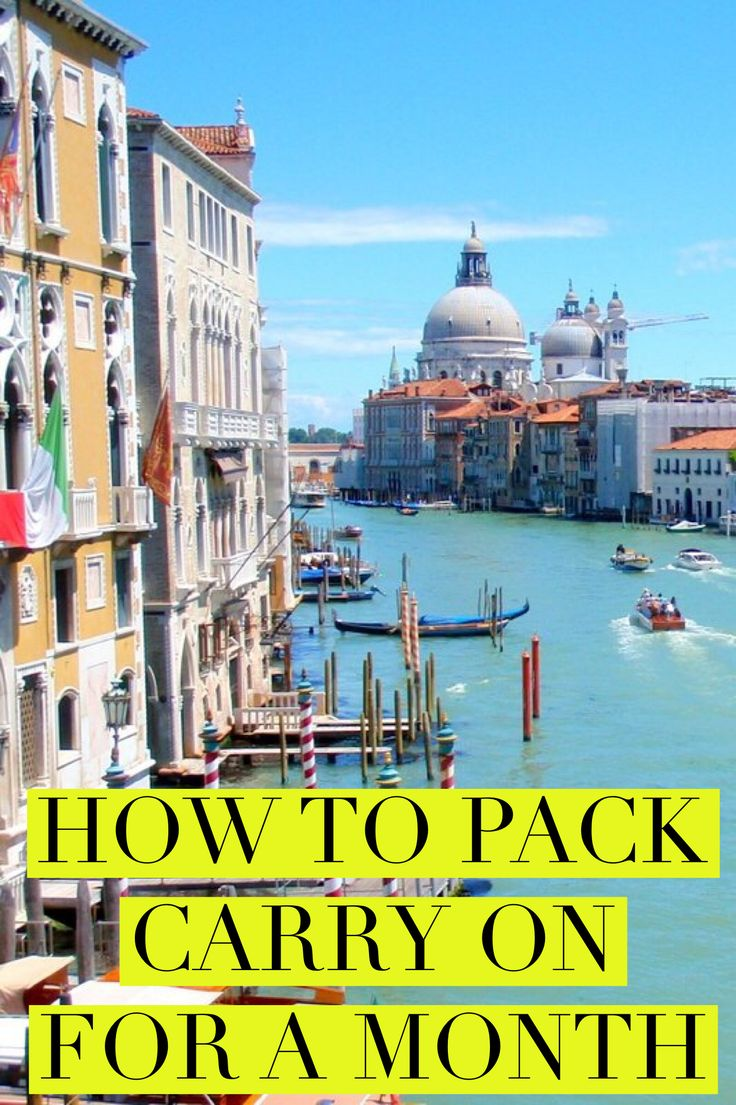 Tired of lost luggage? How to travel light with these best ever packing hacks. Click to try these packign tips to travel with carry on only for a month of more. From the perfect carry on bag to what you don't need to buy as carry on essentials.