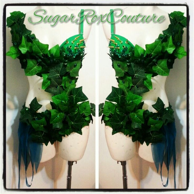 Poison ivy! SugarRoxCouture.com I like the spikes, but probably not practical for me