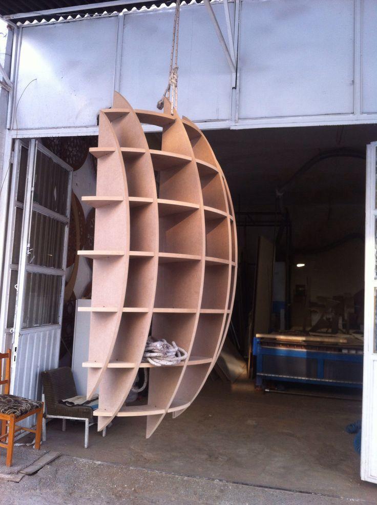 Parametrik raf ( Parametric furniture )