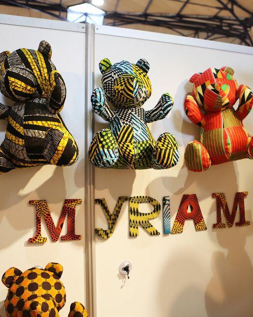 Doudous pagne --> Myriam Maxo