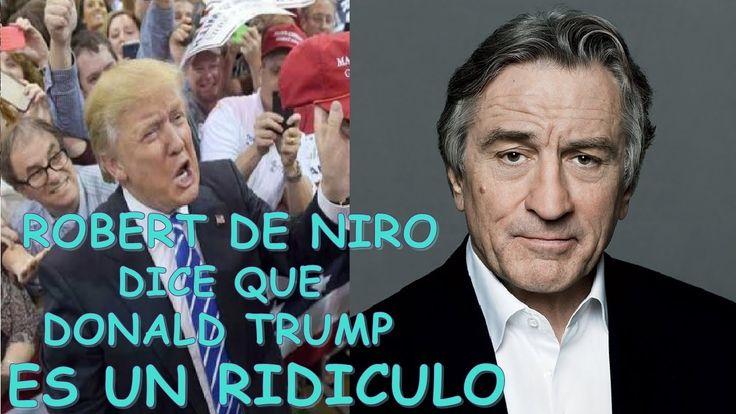 ROBERT DE NIRO DICE QUE DONALD TRUMP ES UN ESTUPIDO, HOTEL DE HAMBURGO S...