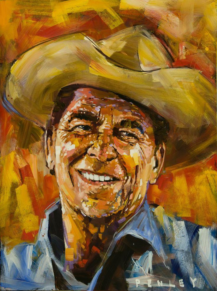 Cowboy Reagan Penley Print